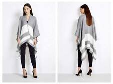 New Wallis Grey Cape Poncho Overcoat Wrap