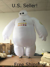 New Big Hero 6 Baymax Inflatable Adult Costume Giant Blob Ghost Mascot-US Seller