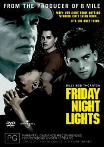 Friday Night Lights - Rare DVD Aus Stock New Region 2,4,5