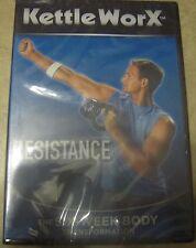 Kettleworx Resistance Six Week Body Transformation Kettlebell Workout DVD New