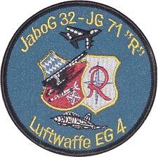 Aufnäher Patch KFOR SFOR EG 4 Einsatzgeschwader 4 JaBoG 32 - JG 71 .......A2618