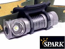 Spark SG5 HCRI Luxeon T CRI90 Carbon Headlight Tasklight Wristband Flashlight