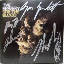 The Bravery - STIR THE BLOOD Autographed - Signed CD Insert