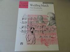 Mendelssohn - Wedding March (1995, Paperback)
