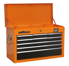 DJM Topchest Tool Storage Chest Top Box 9 Ball Bearing Slide Drawers Heavy Duty