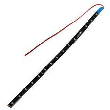 5 X Flexible tira impermeable de luz 12V 15 SMD LED azul 30CM L4H4 WL