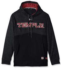 Under Armour UA Men's Temple Owls Football Sideline Hoodie Sweatshirt Large L