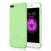 Ultra Thin Clear Hard Matte Slim Back Case Cover For New Apple iPhone 7 / 7 Plus