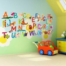 Bathroom Numbers & Letters Wall Stickers