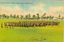 Savannah GA 1941 on the Camp Stewart Parade Grounds