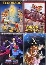 Lot de 4 DVD films genre desssin animés (NEUF EMBALLE)