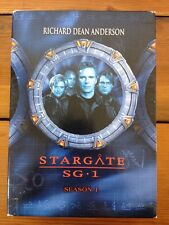 Stargate SG1 First Season 1 Sci-Fi TV DVD Richard Dean Anderson Amanda Tapping