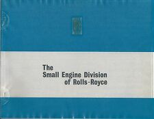 Brochure - Rolls-Royce - Small Engine Division - 1972 (B500)