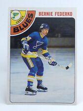 1978-79 Bernie Federko #143 St Louis Blues OPC O Pee Chee Ice Hockey Card H385