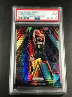 JAMES HARDEN 2018 PANINI PRIZM #11 ALL DAY HYPER REFRACTOR PSA 9