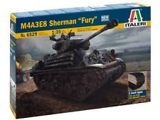 "Italeri WWII M4A3E8 Sherman tank ""FURY"" Movie model kit 1/35"
