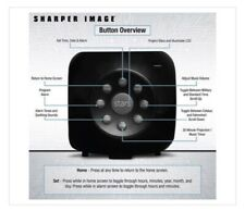 NEW Digital Alarm Clock With Sound Machine & Star Projector Sharper Image