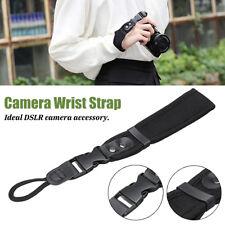 Camera Hand Wrist Grip Strap Adjustable Leather For Canon Nikon Sony SLR/DSLR