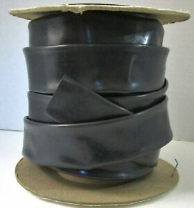 InsulTab PVC Heat Shrink Tubing HS-105 Black 2:1 Shrink ~30 Feet