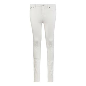 SUPERDRY Women's Sophia High Waist Stretch Skinny Jeans White NEW BNWT W24 L32