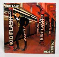 Kid Flash He's In Effect Vintage Vinyl 1988 CBS Records