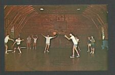 Ca 1965 P P C SPOFFORD NH CAMP NOTRE DAME BASKETBALL PLAYERS, MINT