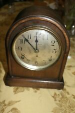 "Antique Seth Thomas Miniature Beehive Style 9.5""x8""x5"" Mantel Regulator Clock"