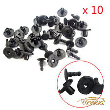 10X Retainer Rivet Fastener Fender Shield Clips For Mazda 2 3 5 CX-7 9S9AK07332