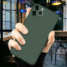 For iPhone 11 Pro Max XR XS 8 7 New Liquid Silicone Case Camera Protective Cover