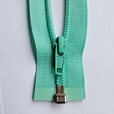 Zip Turquoise Bright 533 Size 5 Teilb. YKK Zipper Cipzár Молния