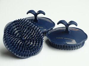 2 Stück Kopfmassagebürste Massage Haarbürste Bürste Bürsten Ø 8cm Kamm Kämme