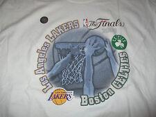 2008 FINALS BOSTON CELTICS vs LOS ANGELES LAKERS (LG) T-Shirt Hologram PIERCE