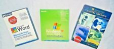PC Software Bundle (3DVDs/CDs) Digital Imaging & Windows Word Enhancement Kit