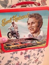 Evel Knievel Lunch Box Vintage
