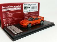 1:64 Ignition Mazda RX-7 FD3S Rocket Bunny Orange Metallic IG1650 Limited Ed.