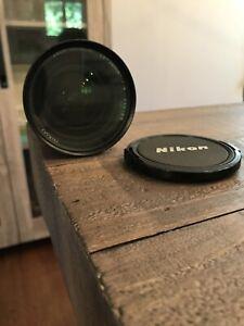 Nikon Zoom-Nikkor 50mm 1:4 Lens Great shape!