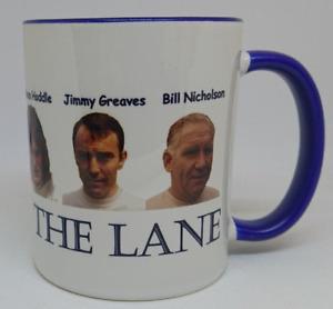 Legends of the lane mug,spurs all time greats on a mug,spurs mug,great gift idea