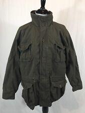 LL Bean Safari Cargo Military Style Jacket Men's Medium Photographer Hunting