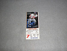 1996 New York NY Giants VS New Orleans Saints NFL Game 7 Ticket Stub NJ Stadium