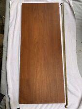 Ladderax teak shelf long Deep 89cm x 35.5cm with 2 support bars (26A)
