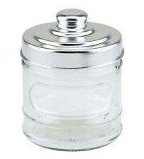 Classic Glass Storage Jars with Lids  Set of 2
