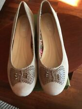 Hotter Suede Casual Heels for Women