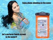 142. PVC Touchable Smartphone Waterproof Bag Case (Large)