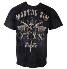 SKULL - Mortal Sin - Crest - T-Shirt - Größe Size XL