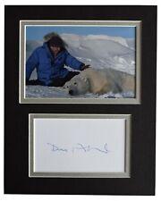 David Attenborough Signed Autograph 10x8 photo display Planet Earth TV COA