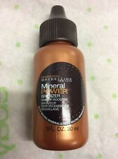 Maybelline Mineral Power Bronzer Makeup Booster with micro mineral FULL SIZE NEW