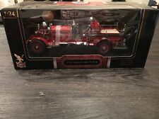 Yat Ming 1925 Ahrens Fox NS4 Fire Truck Signature Series 1:24 Brand New