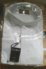 Polyester Regular Long Double Cuff Formal Shirts for Men