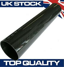 300mm Joiner Carbon Fibre Pipe, 89mm OD - Real Carbon Fiber Air Intake Induction