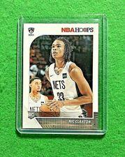NIC CLAXTON ROOKIE HOOPS CARD BROOKLYN NETS RC 2019-20 NBA HOOPS BASKETBALL RC